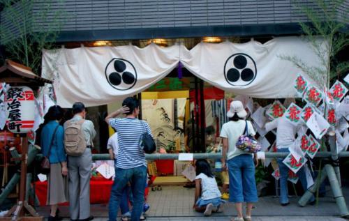 2009年 平野楽器店 店頭
