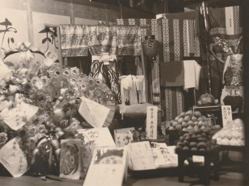 昭和初期 平野楽器店 店頭